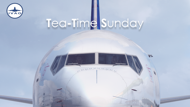 Tea-Time Sunday on IVAO: Dublin to Brussels