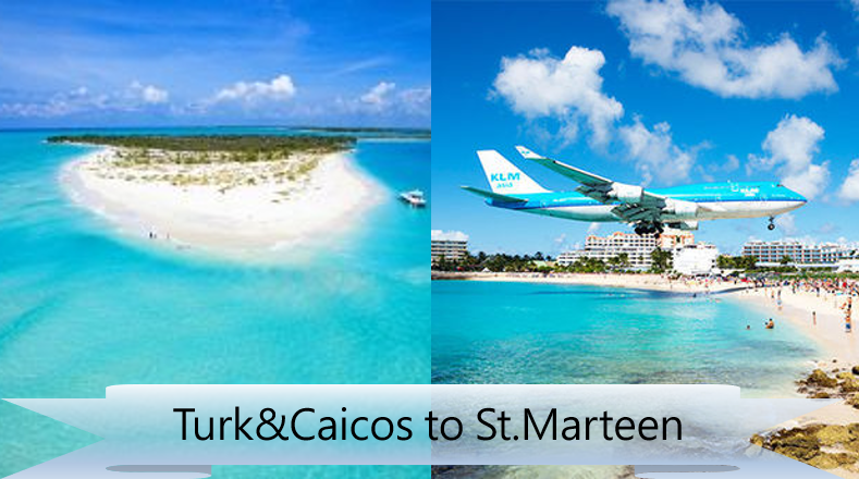 FSD Group Flight: Turk & Caicos to St Maarten