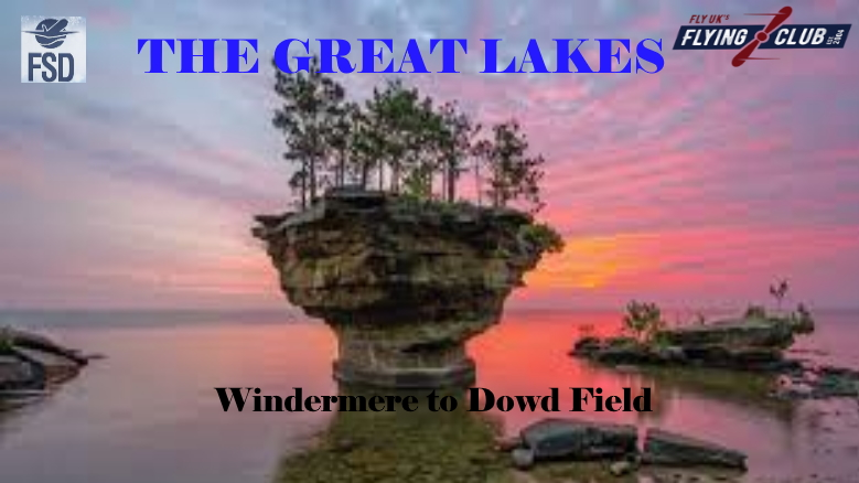 GREAT LAKES - Windermere, Ontario to Dowd Field