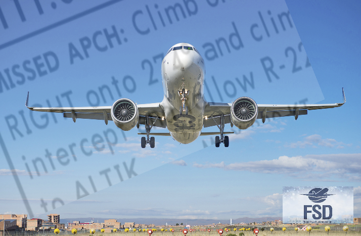 Hop-Skip-Jump: Missed Approach Training with ATC