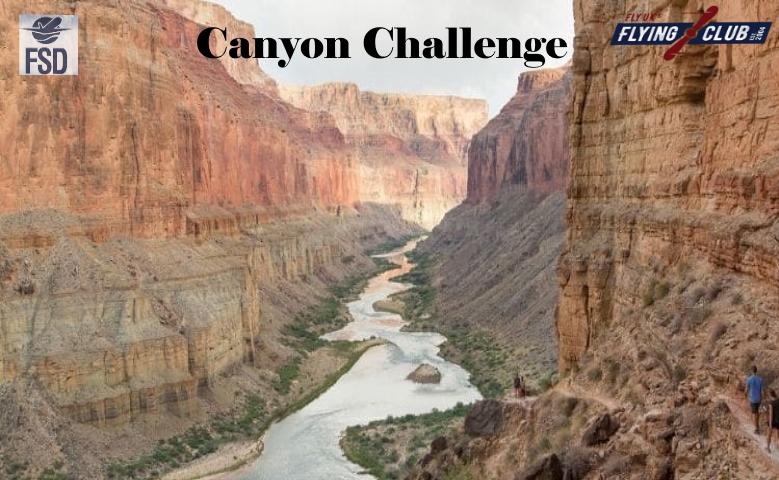Flying  Club Canyon Challenge