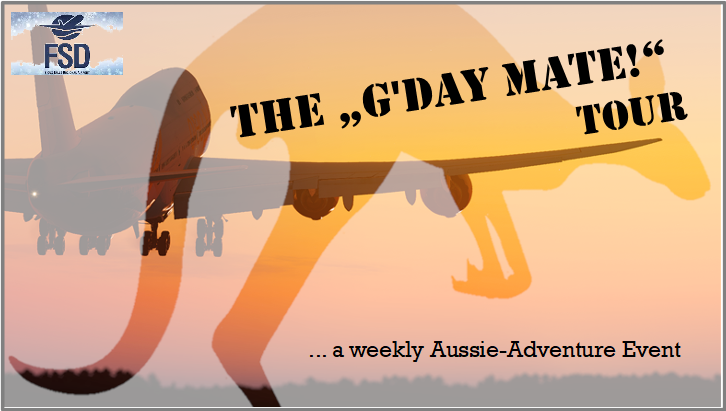 "The ""G'day, Mate"" - Tour Leg 4"