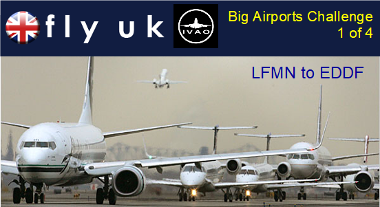 IVAO Weekly Group Flight: Big Airports Challenge 1 of 4