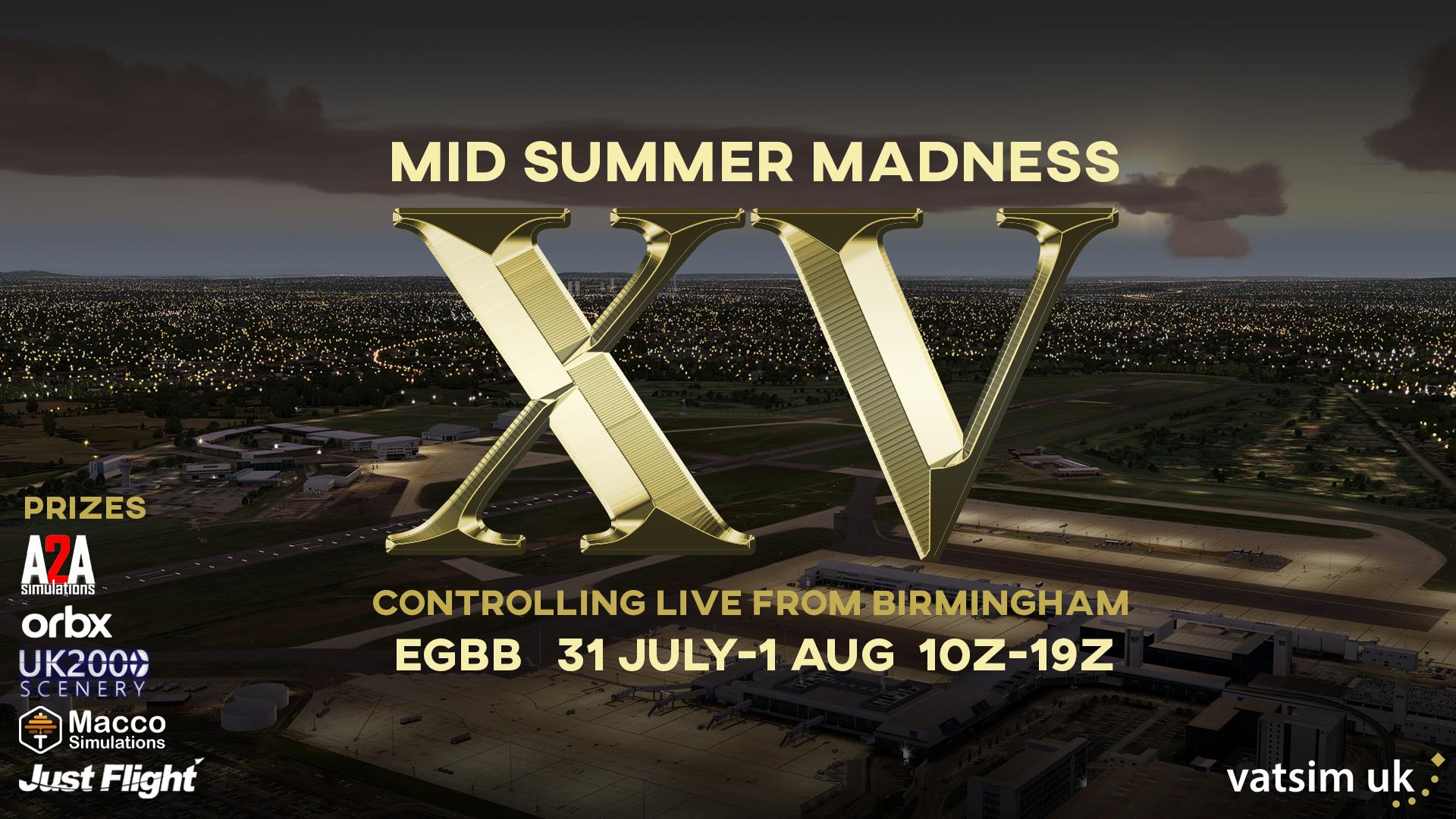 VATSIM Mid Summer Madness XV - Innsbruck - Birmingham