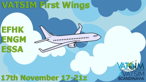 VATSIM First wing FOR BEGINNERS ONLY