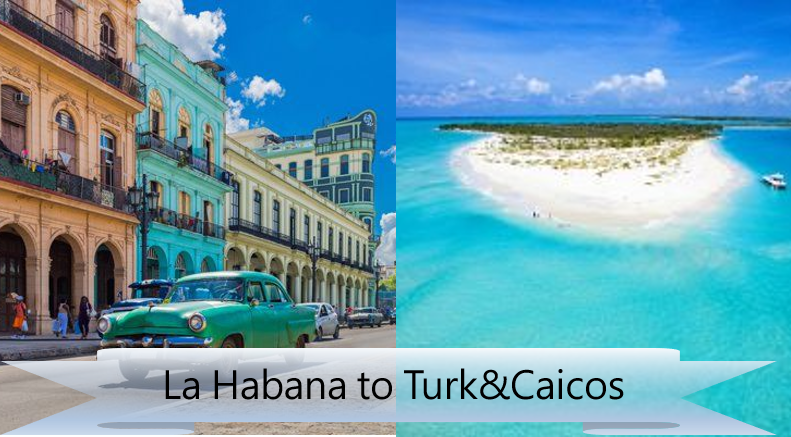 FSD Group Flight: Havana to Turk & Caicos