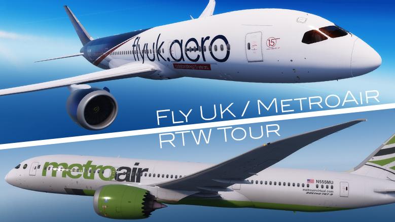 Fly UK / MetroAir RTW Tour - Leg 9