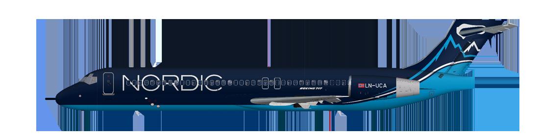 Boeing 717-200 Nordic Sky